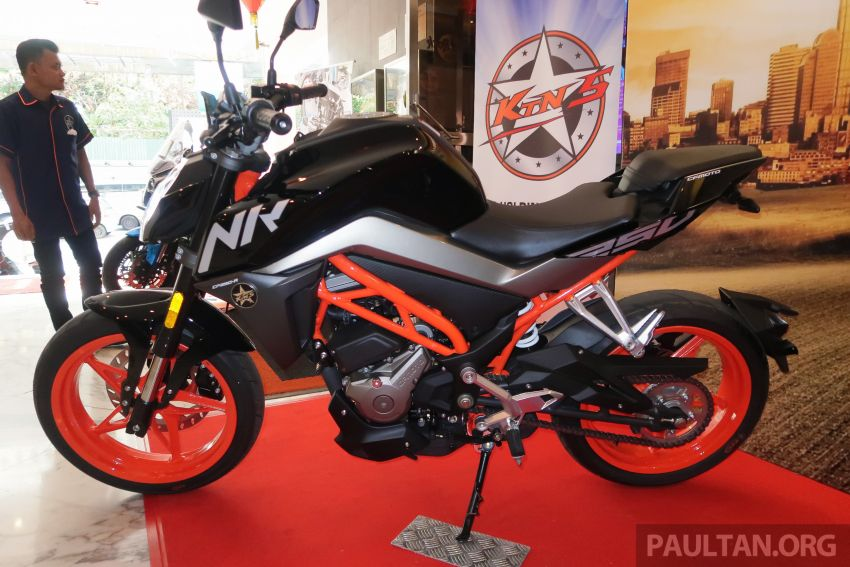2019 CFMoto 250 NK now in Malaysia – RM12,800 for standard, RM13,800 for NK SE with ABS and TFT-LCD Image #913334