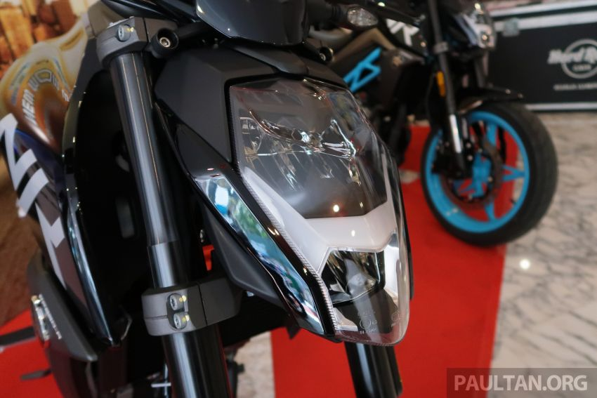 2019 CFMoto 250 NK now in Malaysia – RM12,800 for standard, RM13,800 for NK SE with ABS and TFT-LCD Image #913340