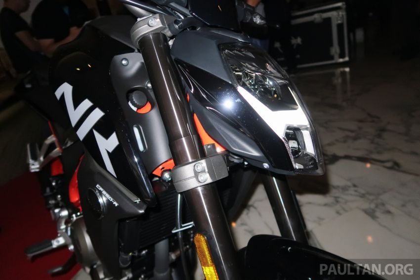 2019 CFMoto 250 NK now in Malaysia – RM12,800 for standard, RM13,800 for NK SE with ABS and TFT-LCD Image #913342