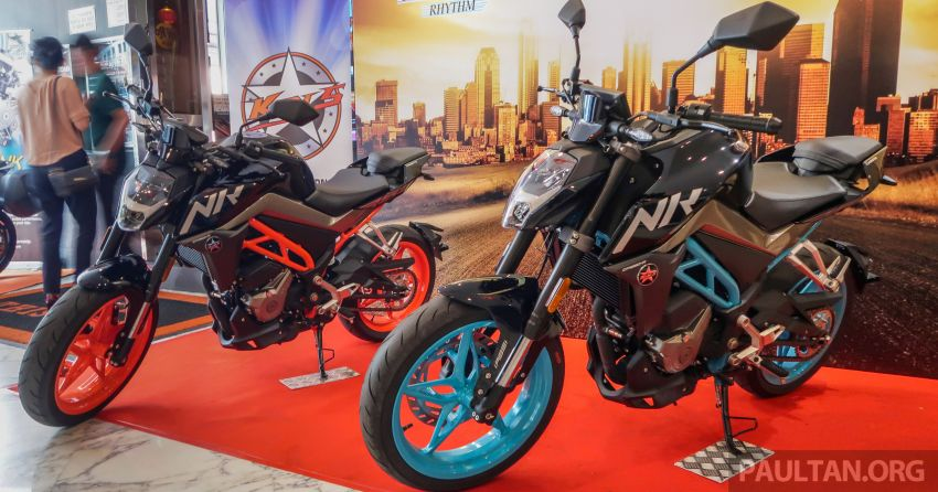 2019 CFMoto 250 NK now in Malaysia – RM12,800 for standard, RM13,800 for NK SE with ABS and TFT-LCD Image #913366