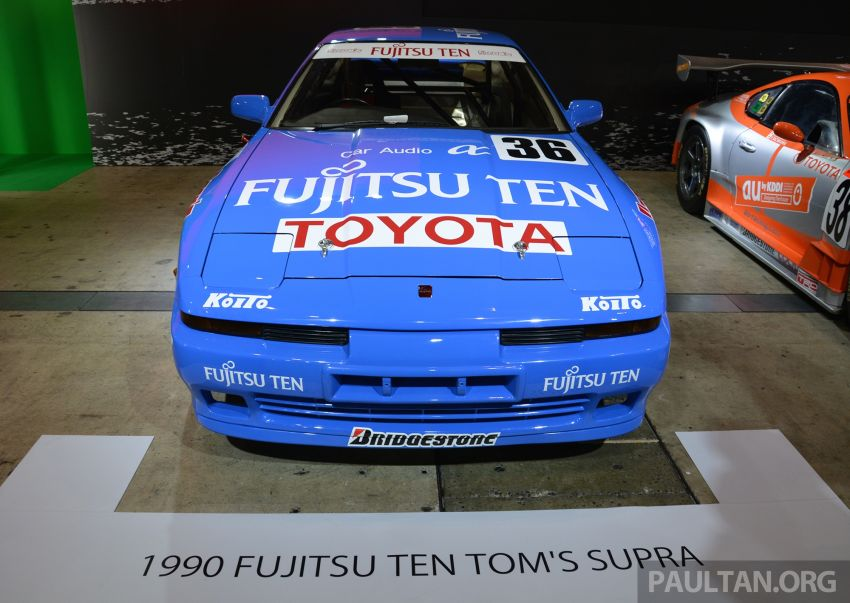 TAS2019: Barisan jentera lumba lagenda Toyota Supra Image #909106