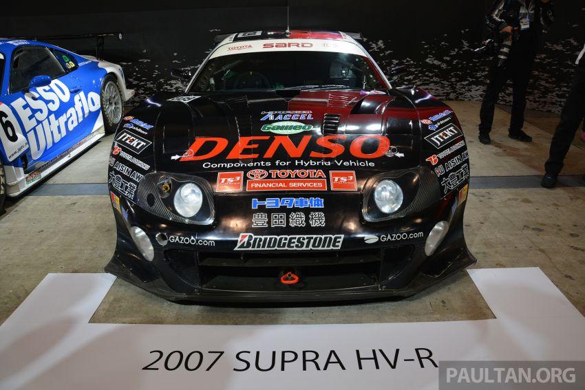 TAS2019: Barisan jentera lumba lagenda Toyota Supra Image #909107