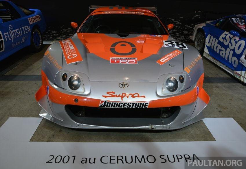 TAS2019: Barisan jentera lumba lagenda Toyota Supra Image #909109