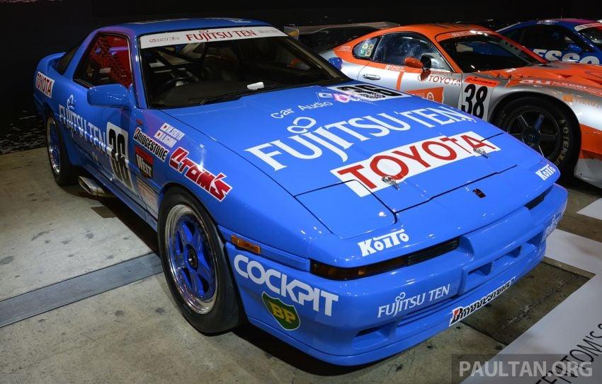 TAS2019: Barisan jentera lumba lagenda Toyota Supra Image #909102