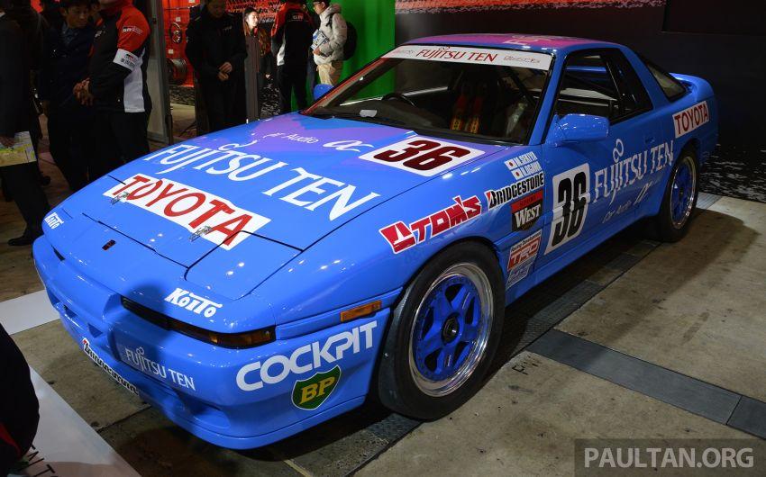 TAS2019: Barisan jentera lumba lagenda Toyota Supra Image #911782