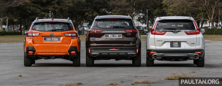 Driven Web Series 2019: New Proton SUV against rivals –  Proton X70 vs Honda CR-V vs Subaru XV Image #915714
