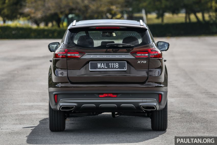 Driven Web Series 2019: New Proton SUV against rivals –  Proton X70 vs Honda CR-V vs Subaru XV Image #915722