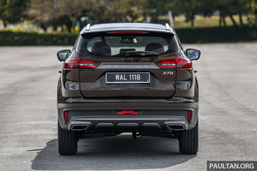 Driven Web Series 2019: New Proton SUV against rivals –  Proton X70 vs Honda CR-V vs Subaru XV Image #915722