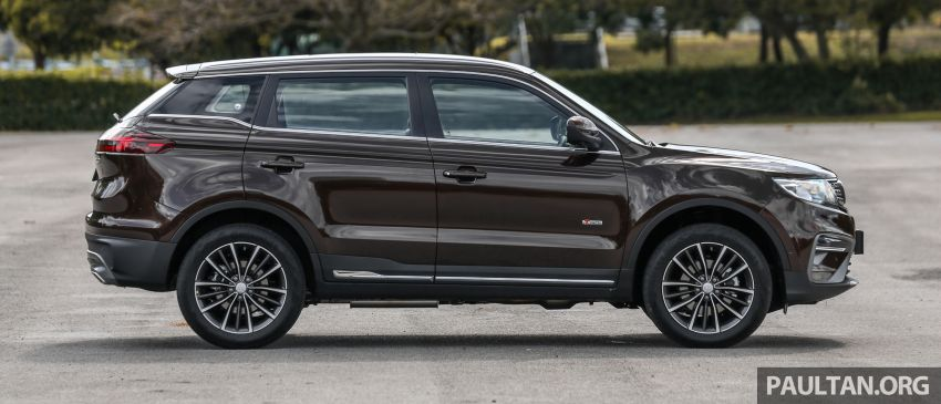 Driven Web Series 2019: New Proton SUV against rivals –  Proton X70 vs Honda CR-V vs Subaru XV Image #915723
