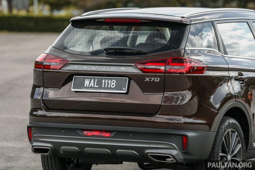 Driven Web Series 2019: New Proton SUV against rivals –  Proton X70 vs Honda CR-V vs Subaru XV Image #915725