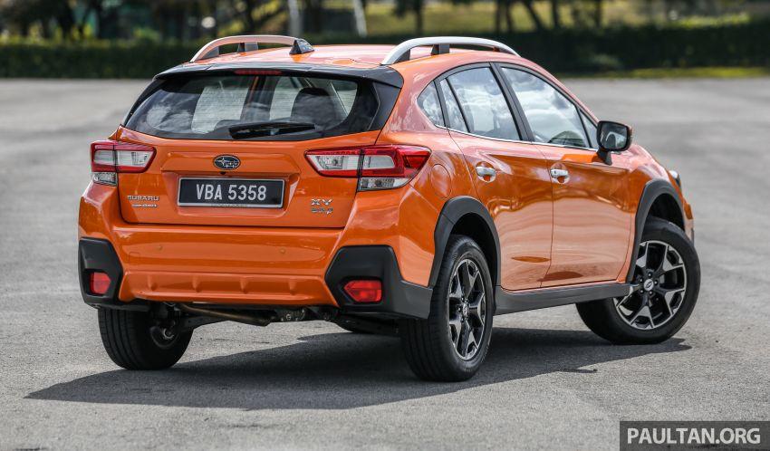 Driven Web Series 2019: New Proton SUV against rivals –  Proton X70 vs Honda CR-V vs Subaru XV Image #915742