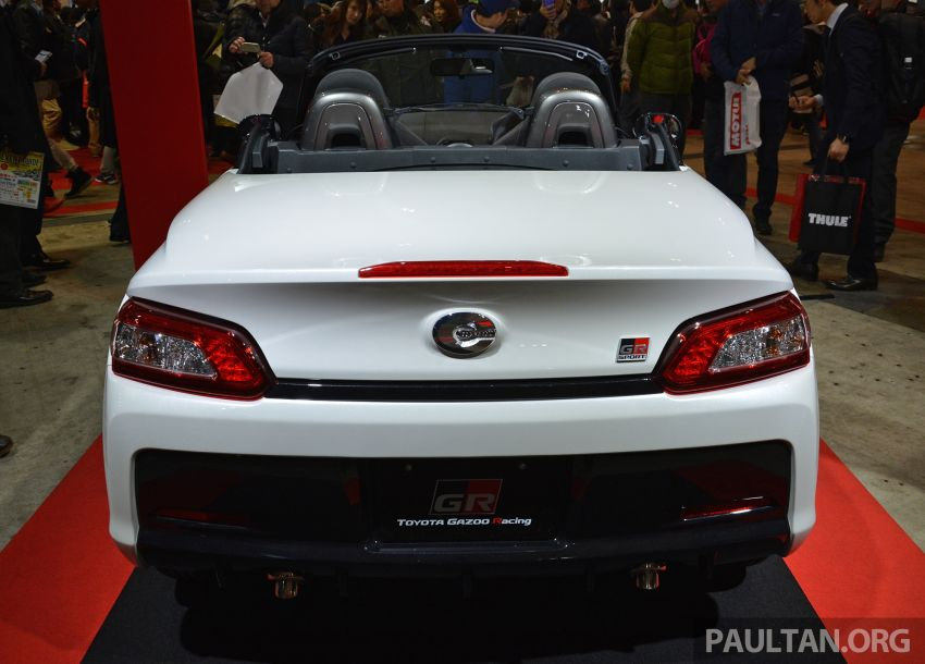 TAS 2019: Daihatsu Copen GR Sport Concept revealed Image #909171