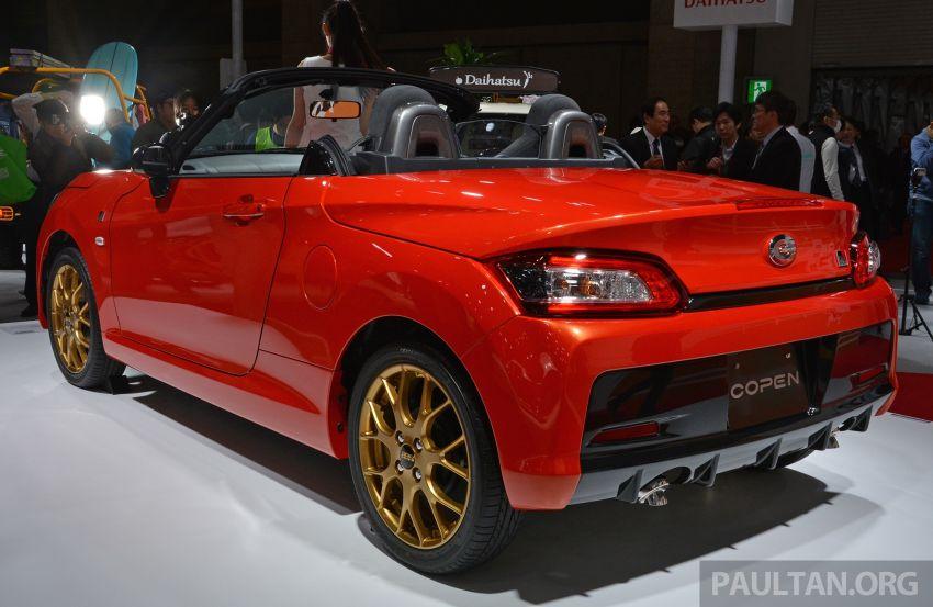 TAS 2019: Daihatsu Copen GR Sport Concept revealed Image #909521