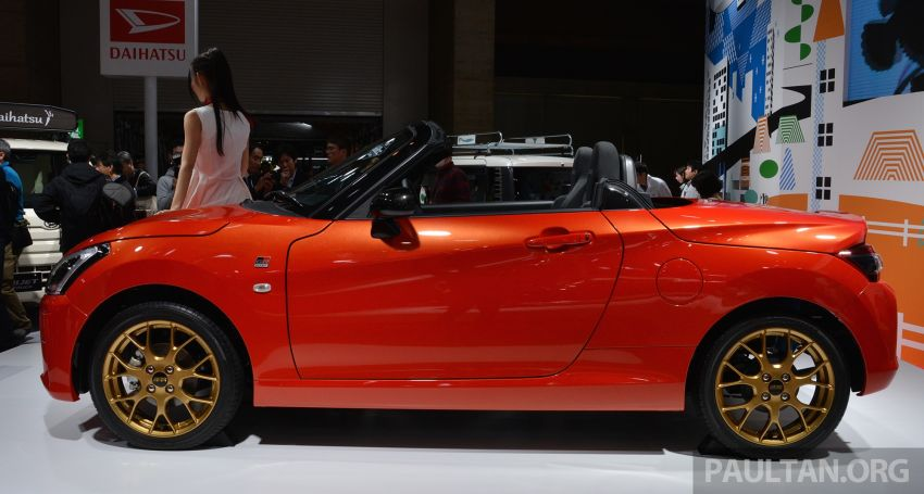 TAS 2019: Daihatsu Copen GR Sport Concept revealed Image #909522