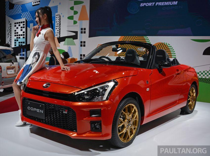 TAS 2019: Daihatsu Copen GR Sport Concept revealed Image #909523