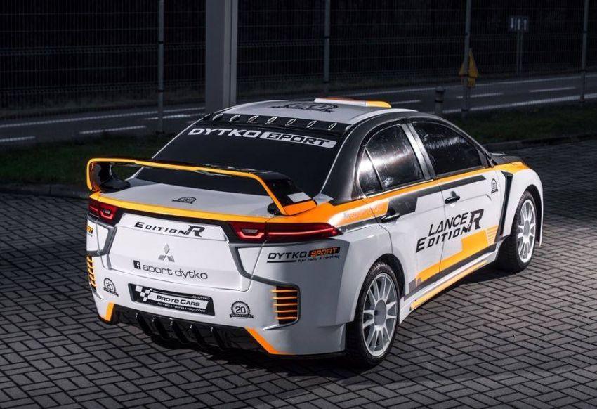 Mitsubishi Lancer Evolution Edition R oleh Dytko Sport – jelmaan Evolution XI versi '<em>fan made</em>' Image #906490