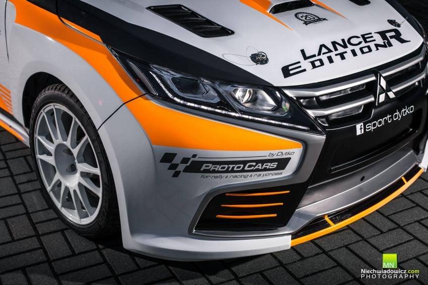 Mitsubishi Lancer Evolution Edition R oleh Dytko Sport – jelmaan Evolution XI versi '<em>fan made</em>' Image #906489