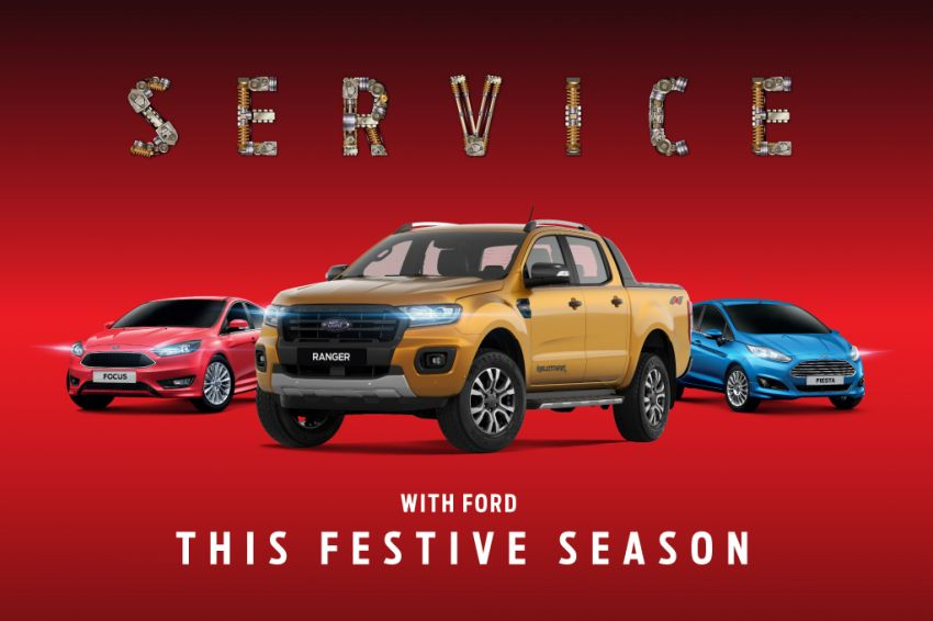 Ford Thaipusam, CNY aftersales promo – free 27-point inspection, 20% discount on parts, 10% on labour Image #909226