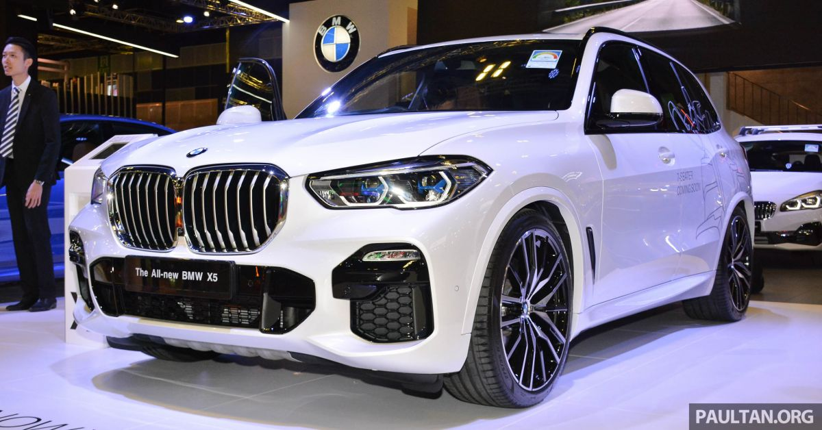 G05 Bmw X5 On Display At The Singapore Motor Show