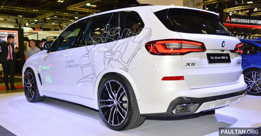 G05 BMW X5 on display at the Singapore Motor Show Image #909144