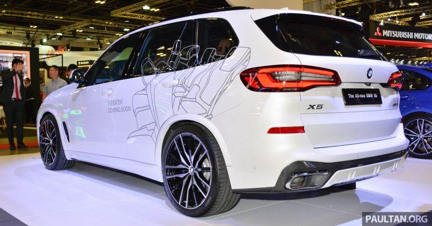 BMW X5 G05 ditayang di Singapore Motor Show 2019 Image #909337