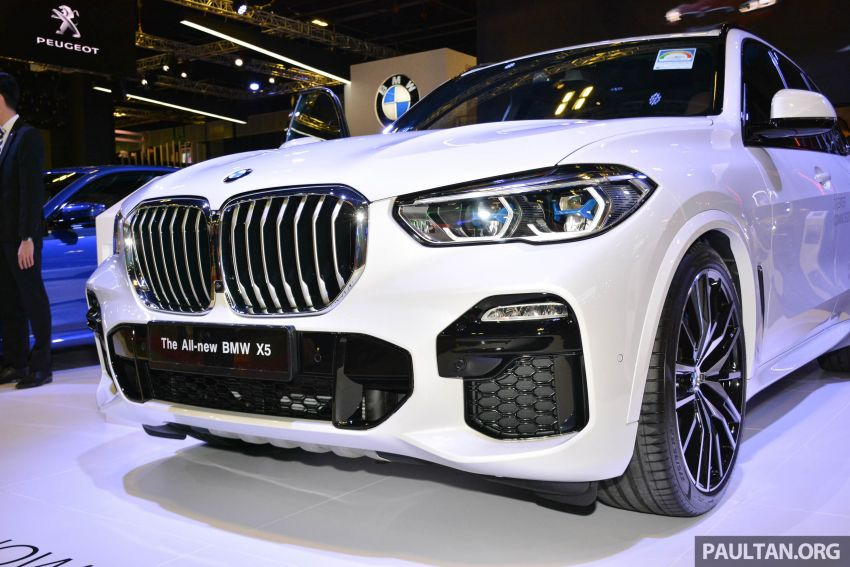G05 BMW X5 on display at the Singapore Motor Show Image #909145