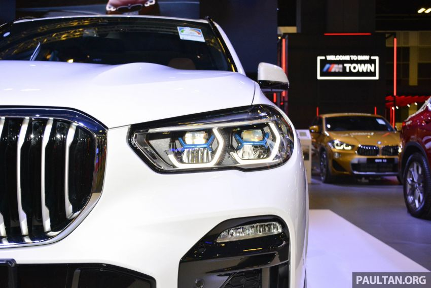 G05 BMW X5 on display at the Singapore Motor Show Image #909147