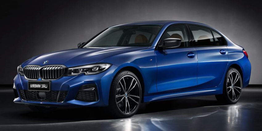 BMW 3 Series Li – long-wheelbase G20 built for China Image #907872
