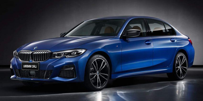BMW 3 Series Li – long-wheelbase G20 built for China Image #907872
