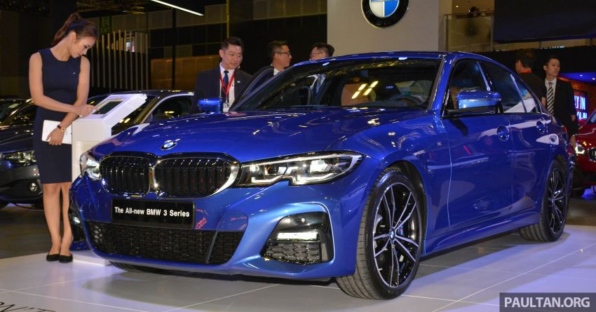 G20 BMW 3 Series debuts at Singapore Motor Show Image #908941
