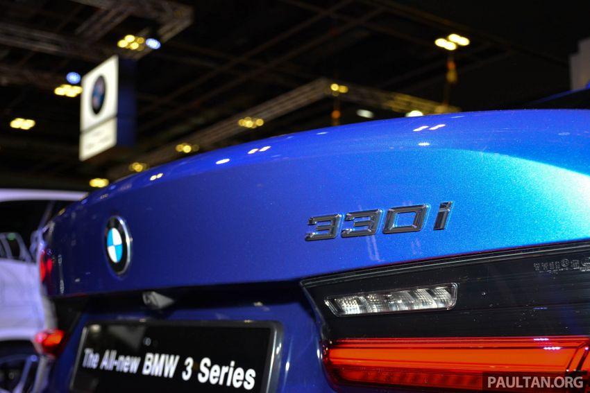 G20 BMW 3 Series debuts at Singapore Motor Show Image #908955