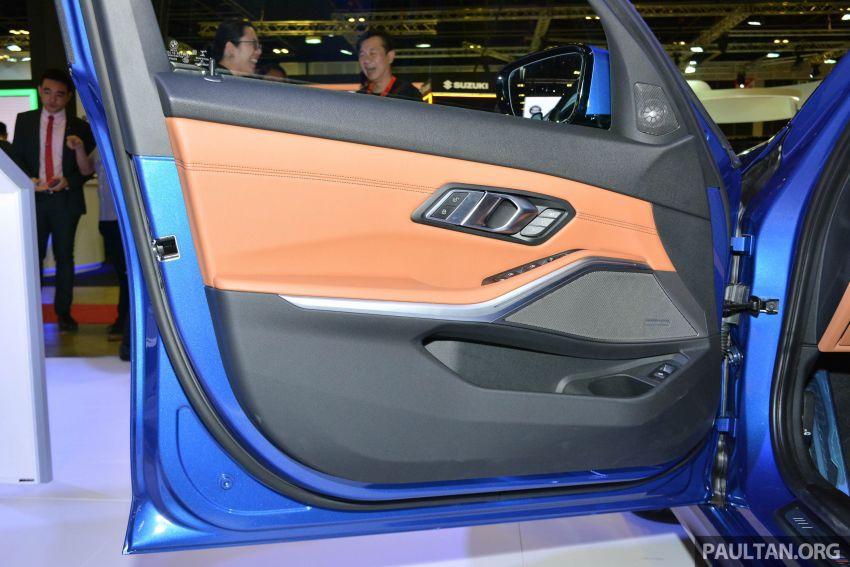 G20 BMW 3 Series debuts at Singapore Motor Show Image #908958