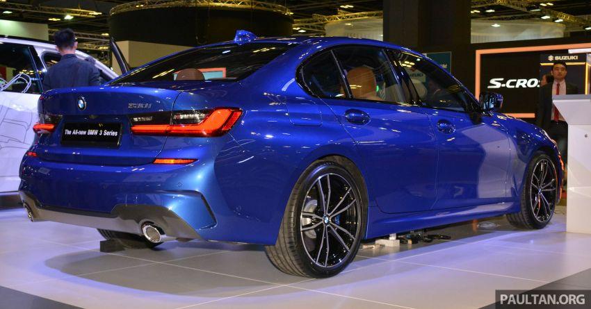 G20 BMW 3 Series debuts at Singapore Motor Show Image #908942