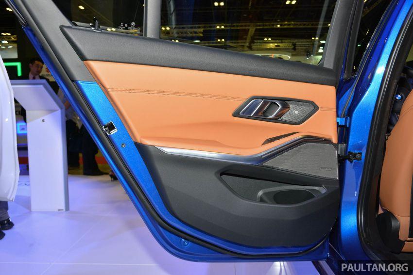 G20 BMW 3 Series debuts at Singapore Motor Show Image #908967