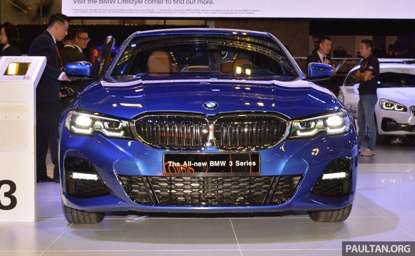 G20 BMW 3 Series debuts at Singapore Motor Show Image #908943