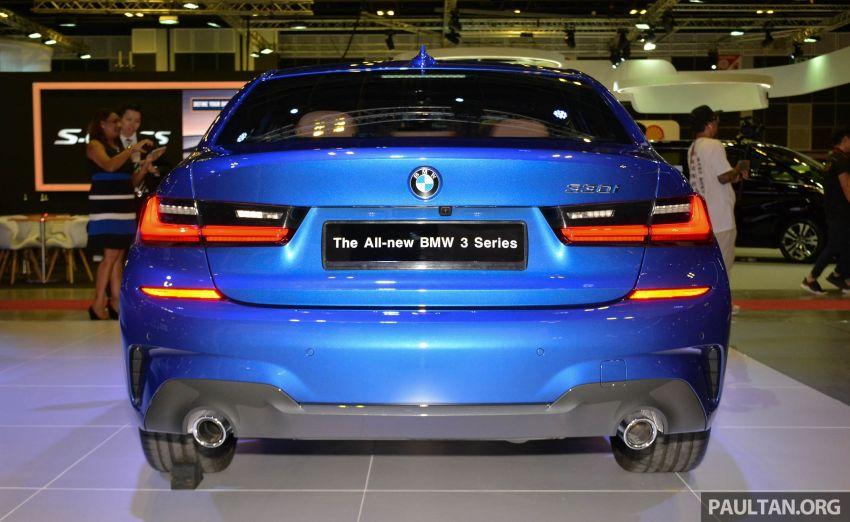 G20 BMW 3 Series debuts at Singapore Motor Show Image #908944