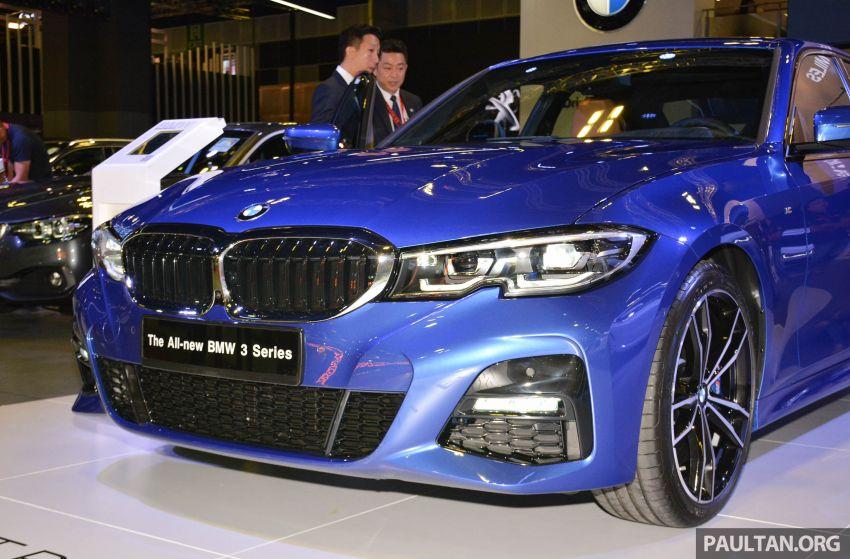 G20 BMW 3 Series debuts at Singapore Motor Show Image #908945