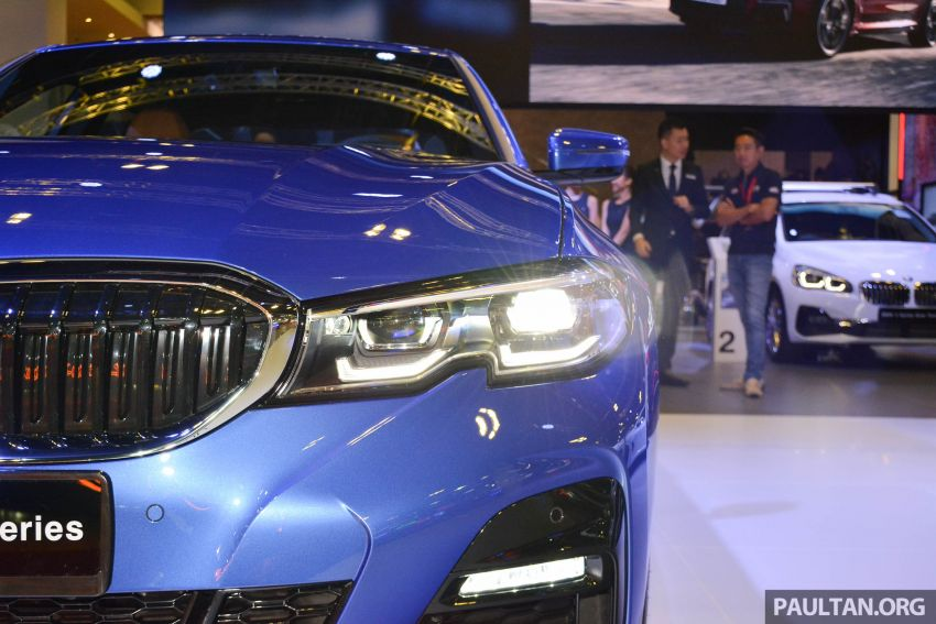 G20 BMW 3 Series debuts at Singapore Motor Show Image #908946