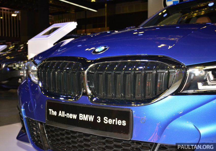 G20 BMW 3 Series debuts at Singapore Motor Show Image #908948