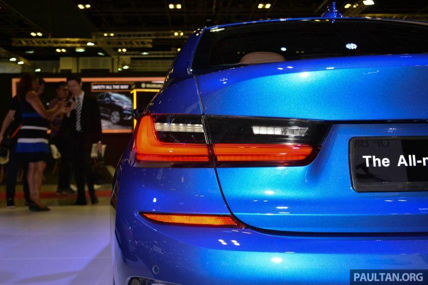 G20 BMW 3 Series debuts at Singapore Motor Show Image #908949