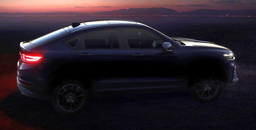 Geely FY11- first teaser images reveal the coupe SUV Image #906226
