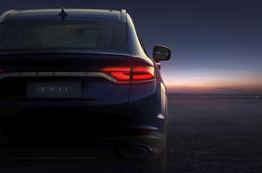 Geely FY11- first teaser images reveal the coupe SUV Image #906228