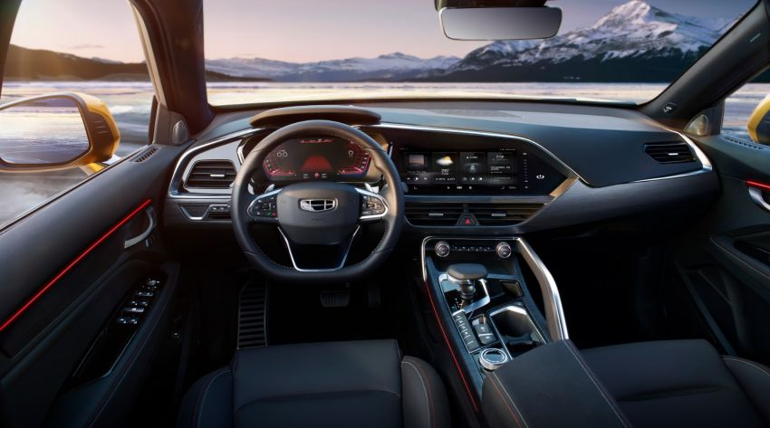 Geely FY11 – interior pics of new coupe SUV revealed Image #916894