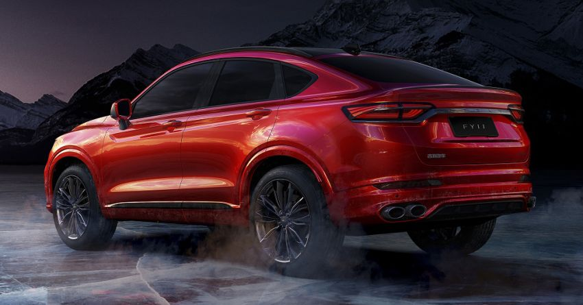 Geely FY11 – more photos of CMA-based coupe SUV Image #913183