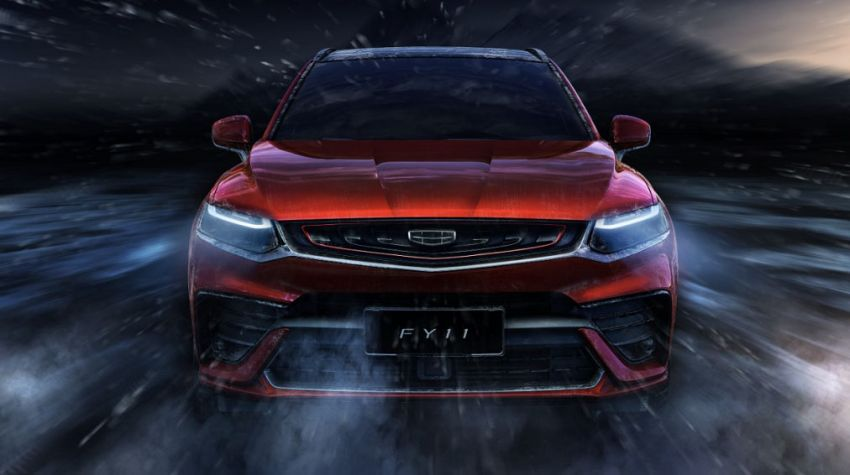 Geely FY11 – more photos of CMA-based coupe SUV Image #913187