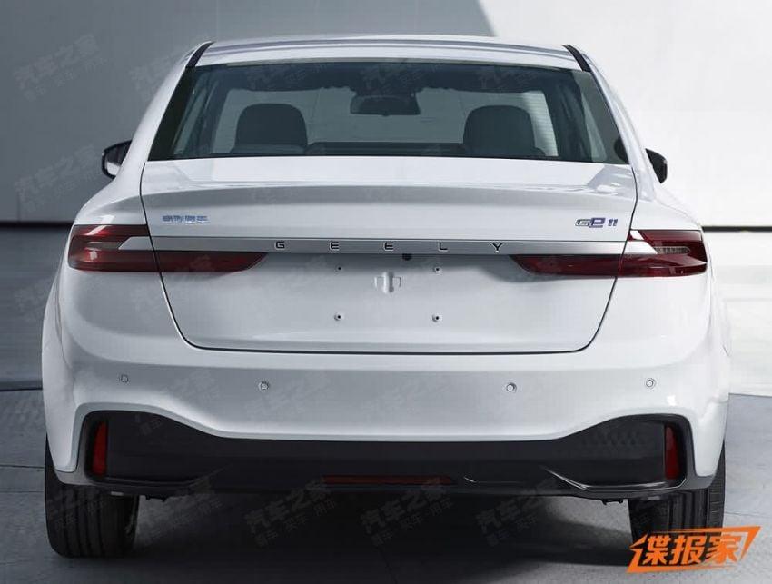 Geely GE11 teased – all-electric sedan to debut soon Image #910208
