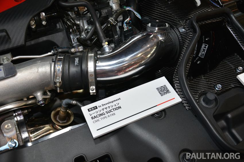TAS 2019: Honda Civic Type R HKS FK380R – 380 PS! Image #909970