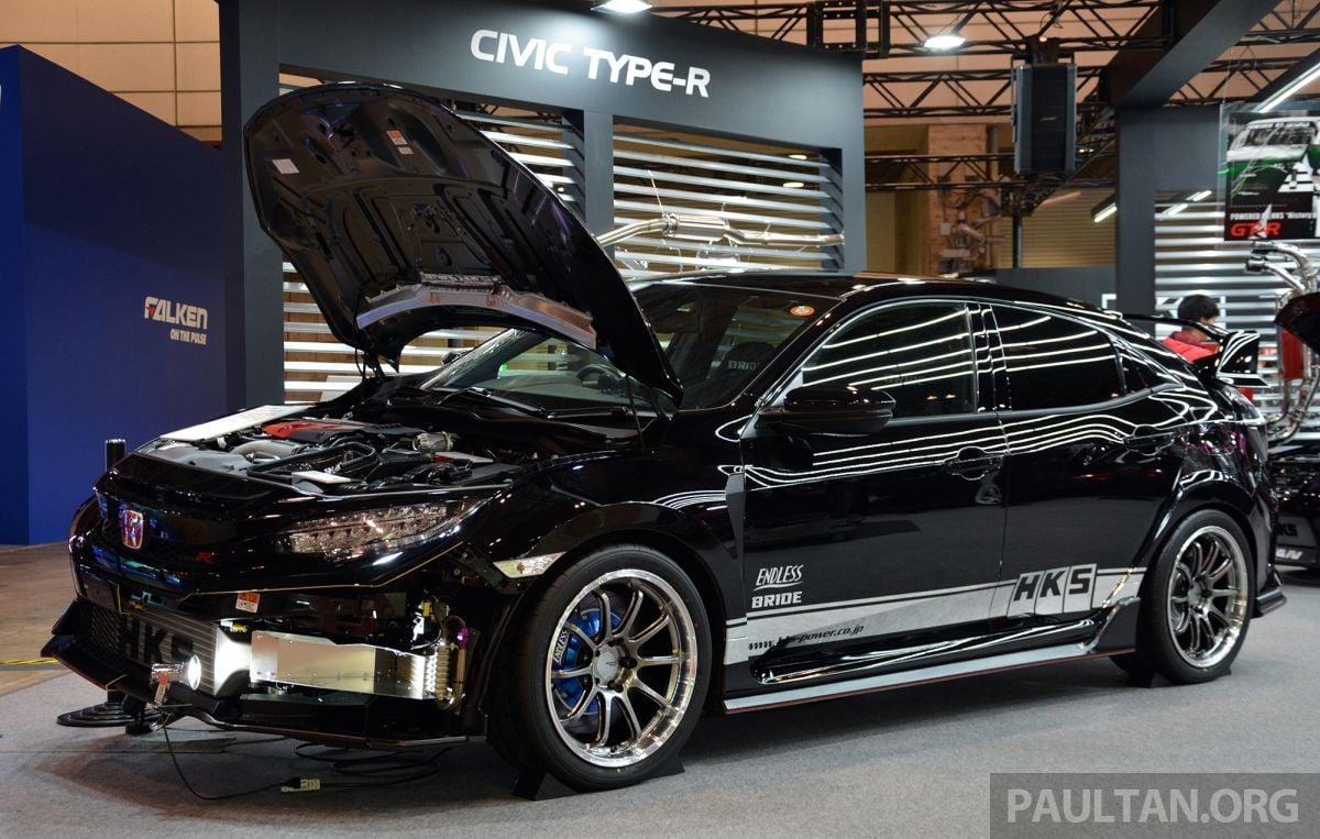 Hks Fk Honda Civic Type R X