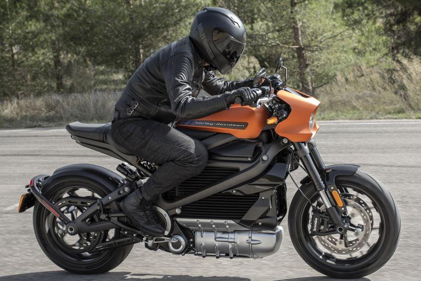 Harley-Davidson Livewire akhirnya dibuka untuk jualan Image #907900