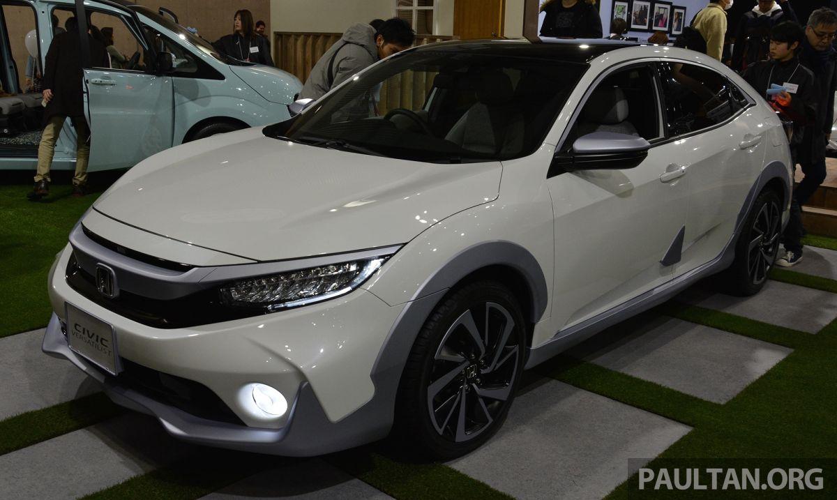 TAS2019: Honda Civic Versatilist nampak seperti SUV